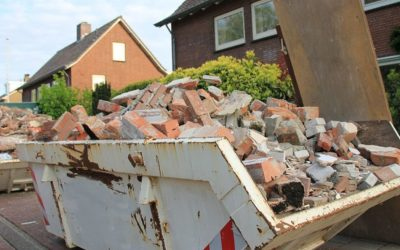 Tipos de contenedores de escombros